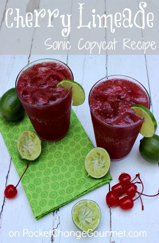 Sonic Cherry Limeade Recipe | Pocket Change Gourmet