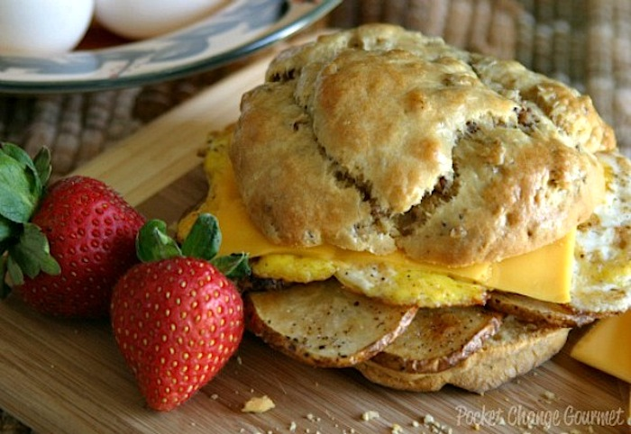 Fried-Egg-Sandwich recipe on PocketChangeGourmet.com