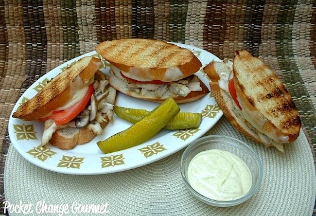 Grilled Italian Chicken Sandwich