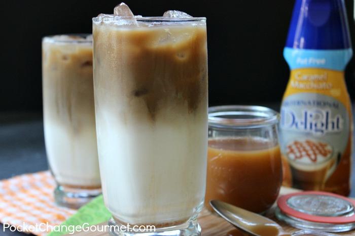 Iced Caramel Macchiato Pocket Change Gourmet