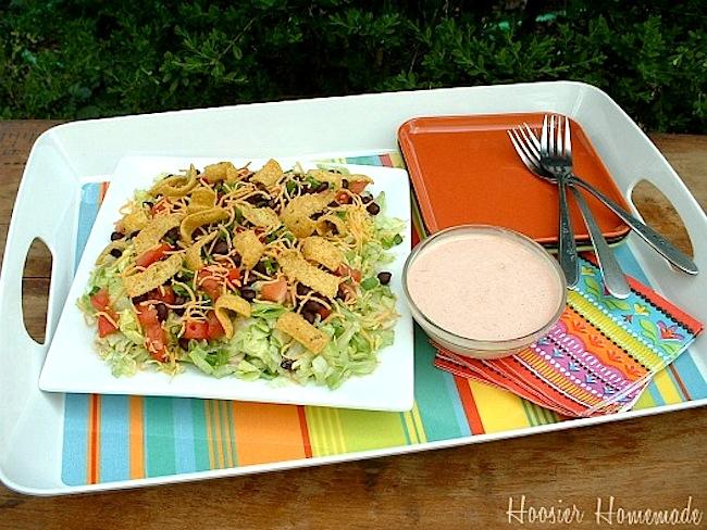 7-Layer Southwestern Salad