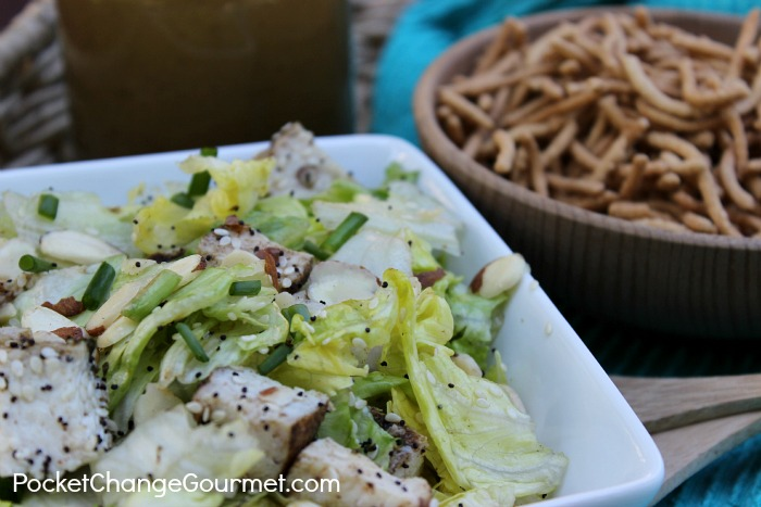Chinese Chicken Salad :: Recipe on PocketChangeGourmet.com