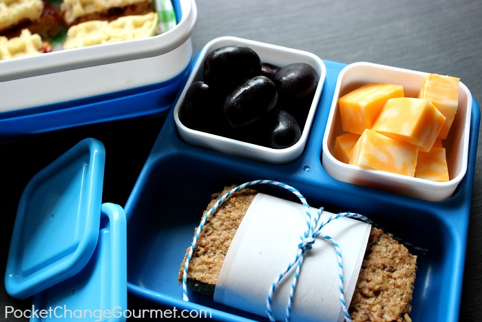 Back to School Bento Lunchbox :: Recipes on PocketChangeGourmet.com