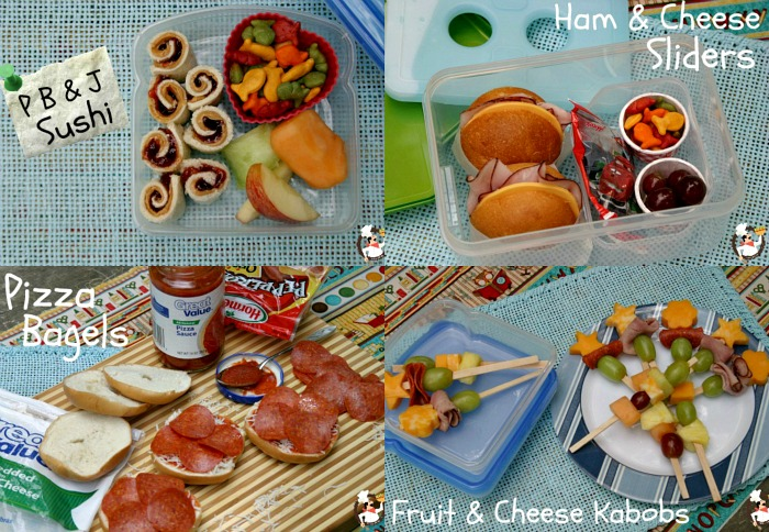 Back to School Lunchbox Ideas :: on PocketChangeGourmet.com