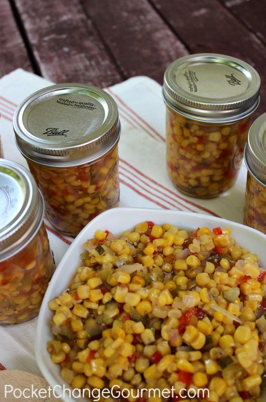 Pickled Corn Relish | Pocket Change Gourmet