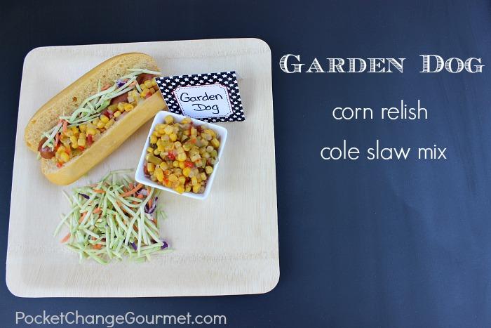 Hot Dog Bar :: Garden Dog ::PocketChangeGourmet.com