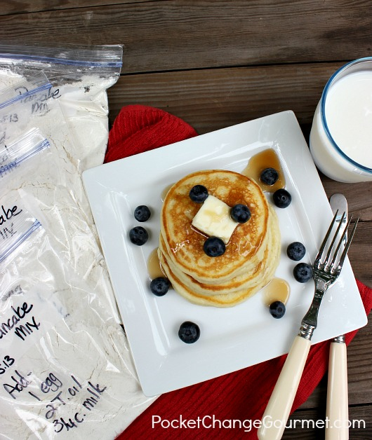 Homemade Pancakes: Easy Breakfast Prep