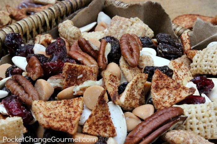 Apple Cinnamon Snack Mix :: Recipe on PocketChangeGourmet.com