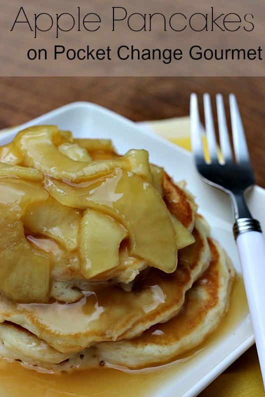 Apple Pancakes on Pocket Change Gourmet