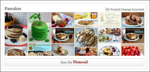 Pancake Pinterest Board