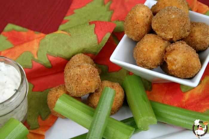 Buffalo Chicken Bites :: Recipe on PocketChangeGourmet.com