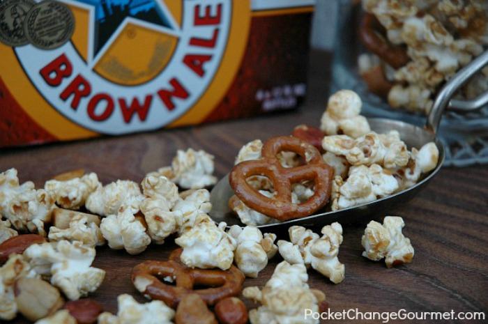 Brown Ale Caramel Corn :: Recipe on PocketChangeGourmet.com