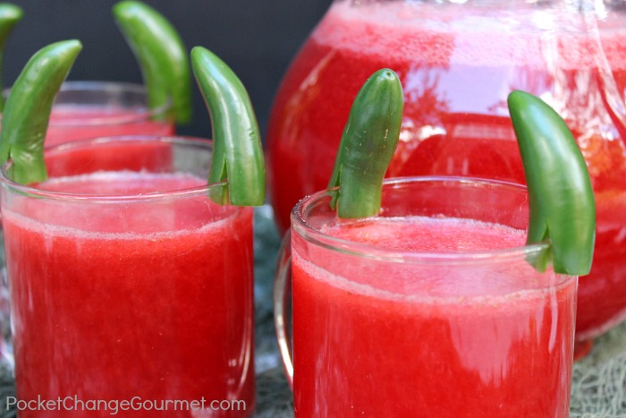 Fun Halloween Food Ideas: Devilish Punch Drink | Pocket Change Gourmet