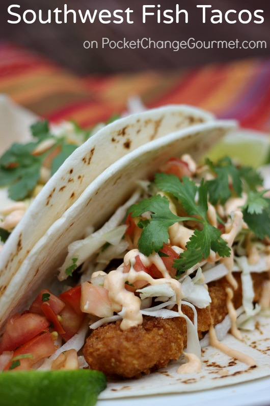 Southwest fish tacos recipe pocket change gourmet for Suggestions for sides for fish tacos