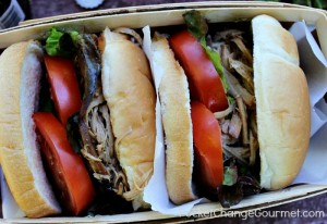 Pulled Pork Sandwiches with Root Beer Barbecue Sauce