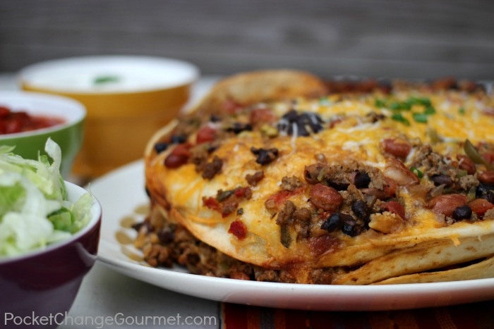 Slow Cooker Enchiladas :: Recipe on PocketChangeGourmet.com