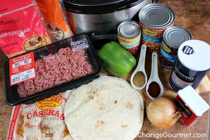 Slow Cooker Enchiladas :: Recipe on PocketChangeGourmet.com