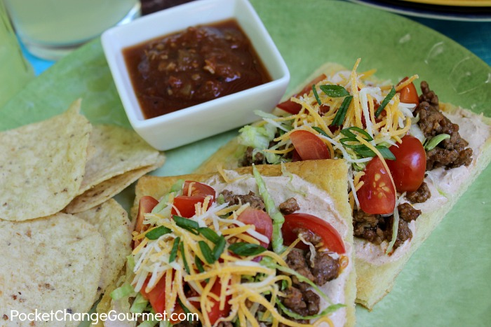 Mexican Pizza |  Recipe on PocketChangeGourmet.com