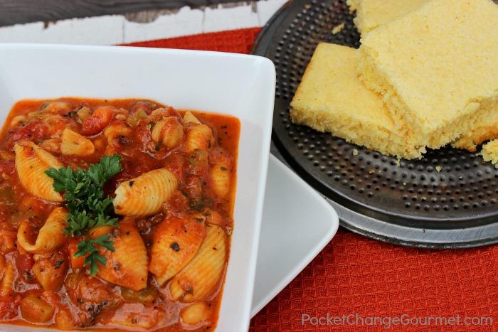Hearty Meatless Minestrone Soup Recipe