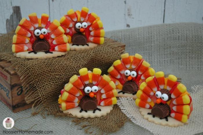 Turkey Cookies | Recipe on HoosierHomemade.com