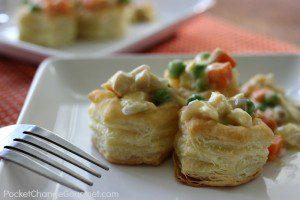 Creamy Turkey (or Chicken) Pot Pies