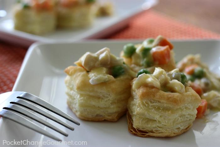 Turkey Pot Pie on PocketChangeGourmet.com