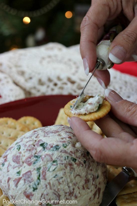 Cheese Ball | Recipe on PocketChangeGourmet.com