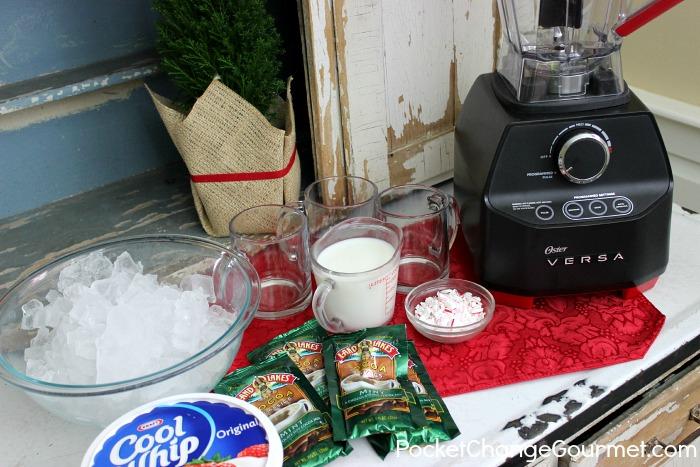 Frozen Peppermint Hot Chocolate   Recipe on PocketChangeGourmet.com