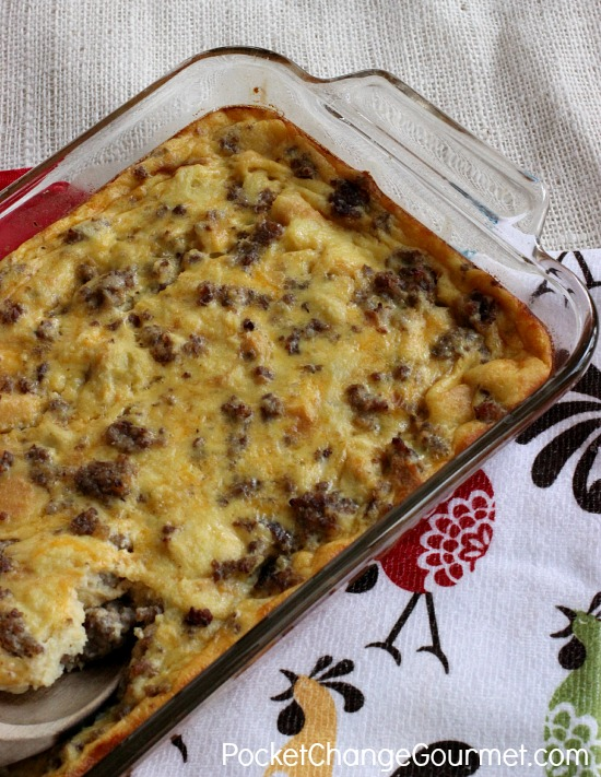 Make Ahead Sausage Casserole