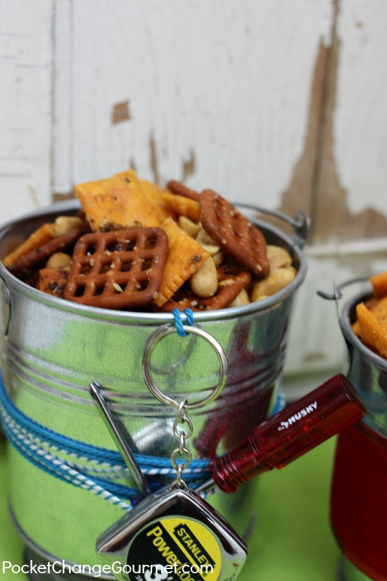 Savory Pretzel Snack Mix : Gifts from the Kitchen : Recipe on PocketChangeGourmet.com