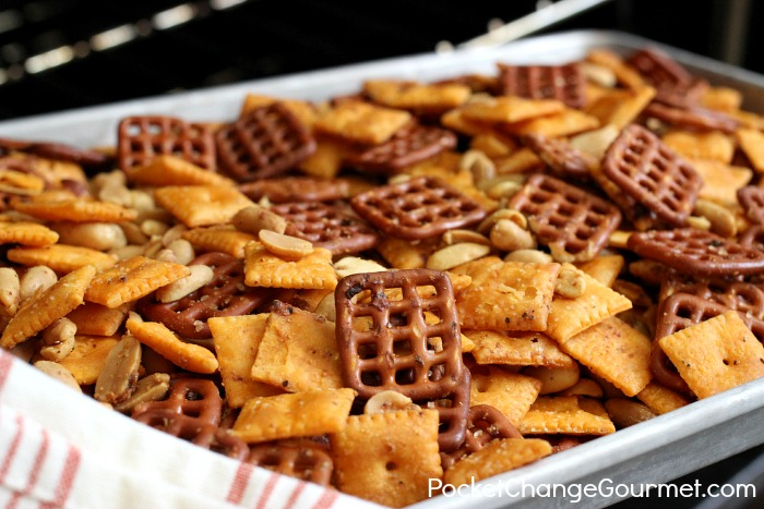 Savory Pretzel Snack Mix : Gifts from the Kitchen