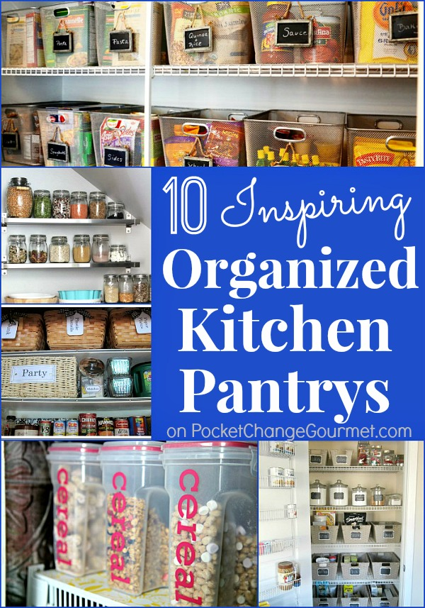 organizing the kitchen pantry kitchen organizing pantry recipe pocket change gourmet 3802