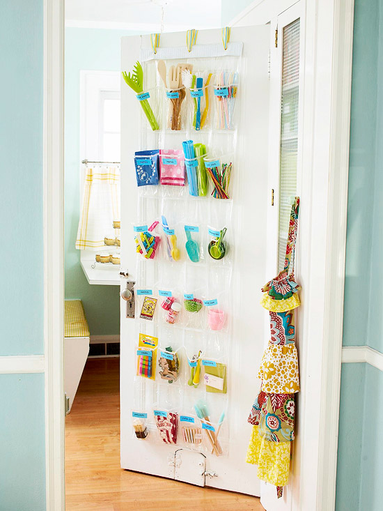 Kitchen Pantry Door Organizer - BHG
