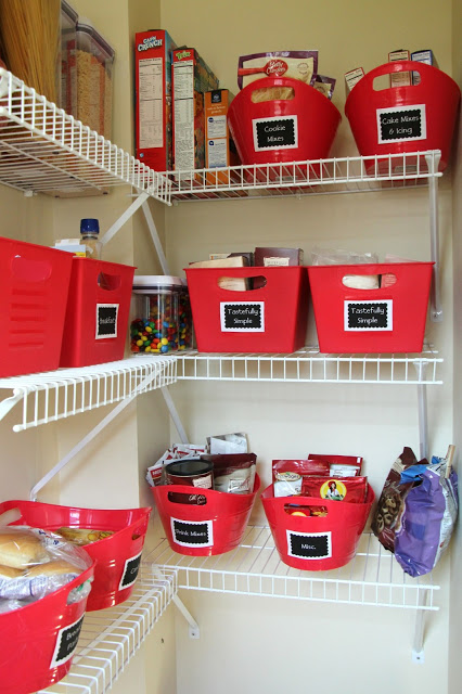 Organized Kitchen Pantry - Lovely Little Life