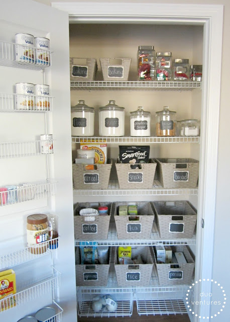 Organized Kitchen Pantry - Duo Ventures