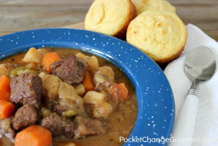 Irish Beef Stew | Recipe on PocketChangeGourmet.com