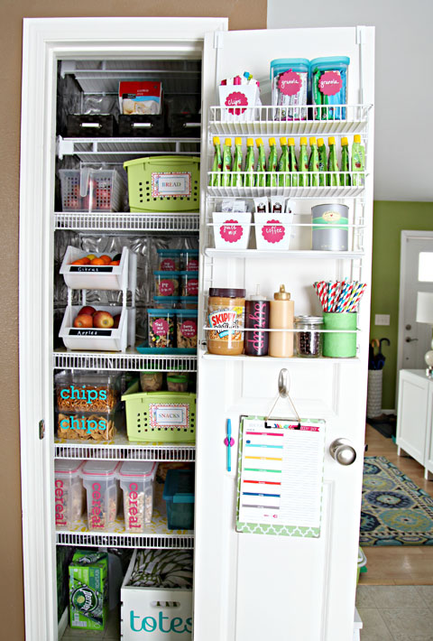 Organized Pantry Makeover - I Heart Organizing
