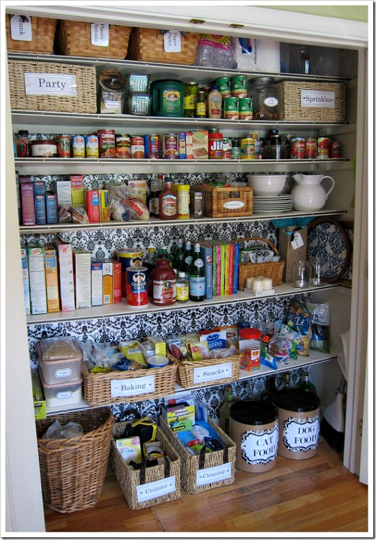 Kitchen Organization | Pocket Change Gourmet