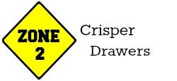 Zone 2 - Crisper Drawers