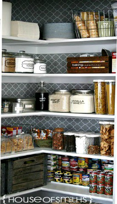 Organized Kitchen Pantry - House of Smiths