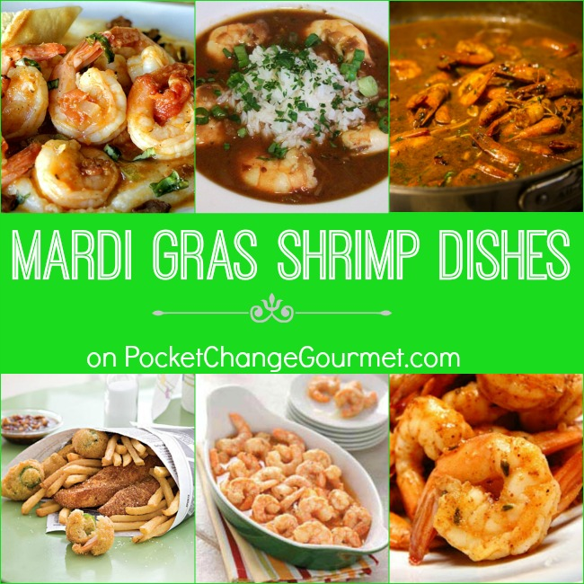 Mardi Gras Shrimp Dishes on PocketChangeGourmet.com