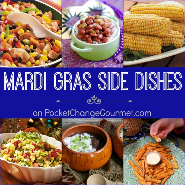 Mardi Gras Side Dishes on PocketChangeGourmet.com