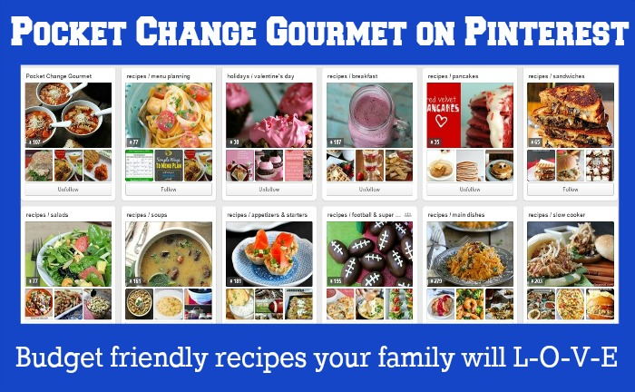 Pocket Change Gourmet on Pinterest