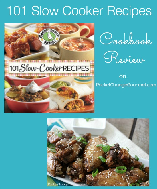 101 Slow Cooker Recipes Cookbook Review on PocketChangeGourmet.com