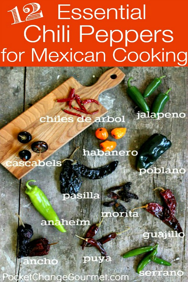 12 Essential Chili Peppers for Mexican Cooking | Pocket