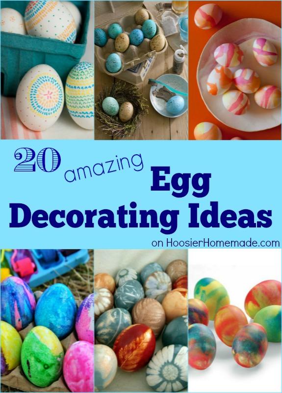 20 Amazing Egg Decorating Ideas