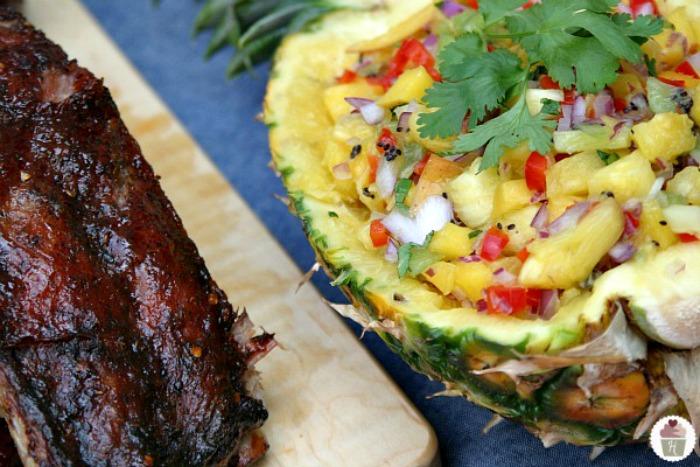 Jamaican-Ribs-Fruit-Salsa