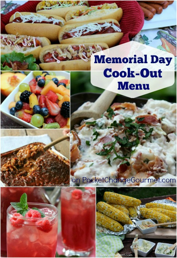 Quick and Easy Memorial Day Barbecue Menu. Kimberly Holland. May 23, We're a week away from Memorial Day, which means we should all be putting finishing touches on our menu. (Or, if you're like me, you're thinking about it for the very first time!) If you still need to fill your list of things to fix or if you're just looking for.