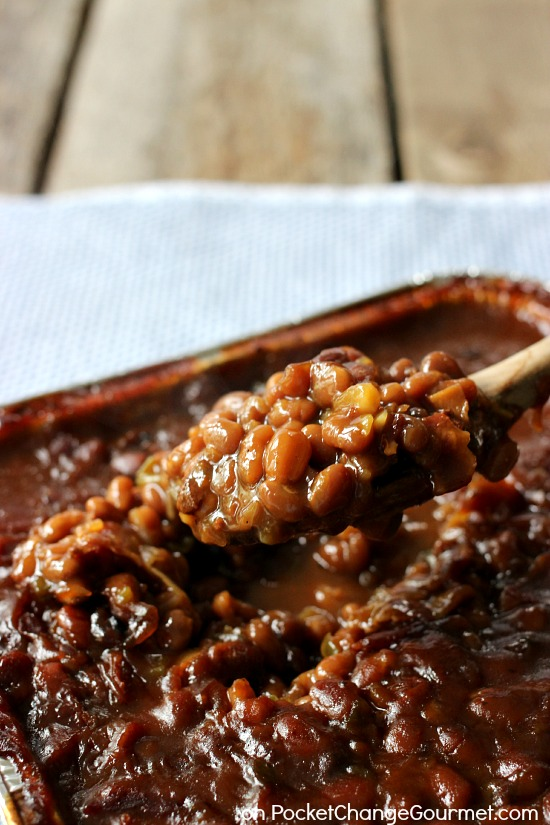 Smokehouse Grilled Barbecue Beans Recipe Pocket Change