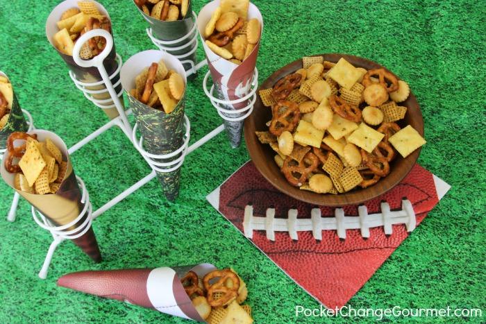 Buffalo Ranch Snack Mix | Recipe on PocketChangeGourmet.com